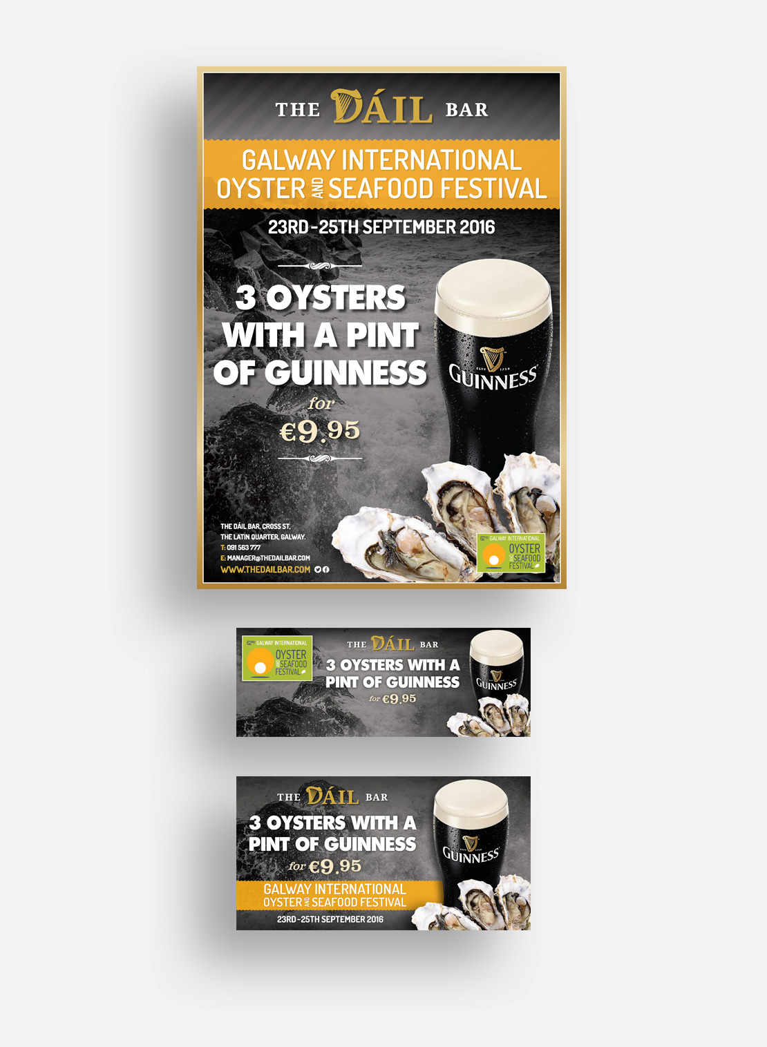 The Dáil Bar 2016 Galway Oyster Festival promotions