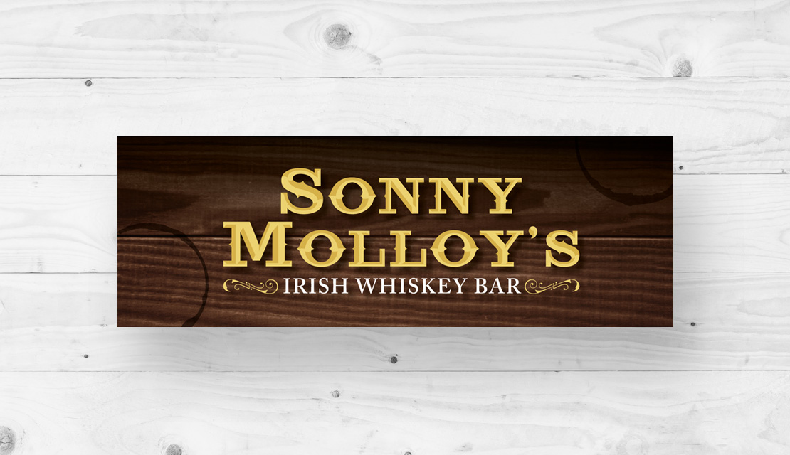 Sonny Molloy's Irish Whiskey Bar Logo