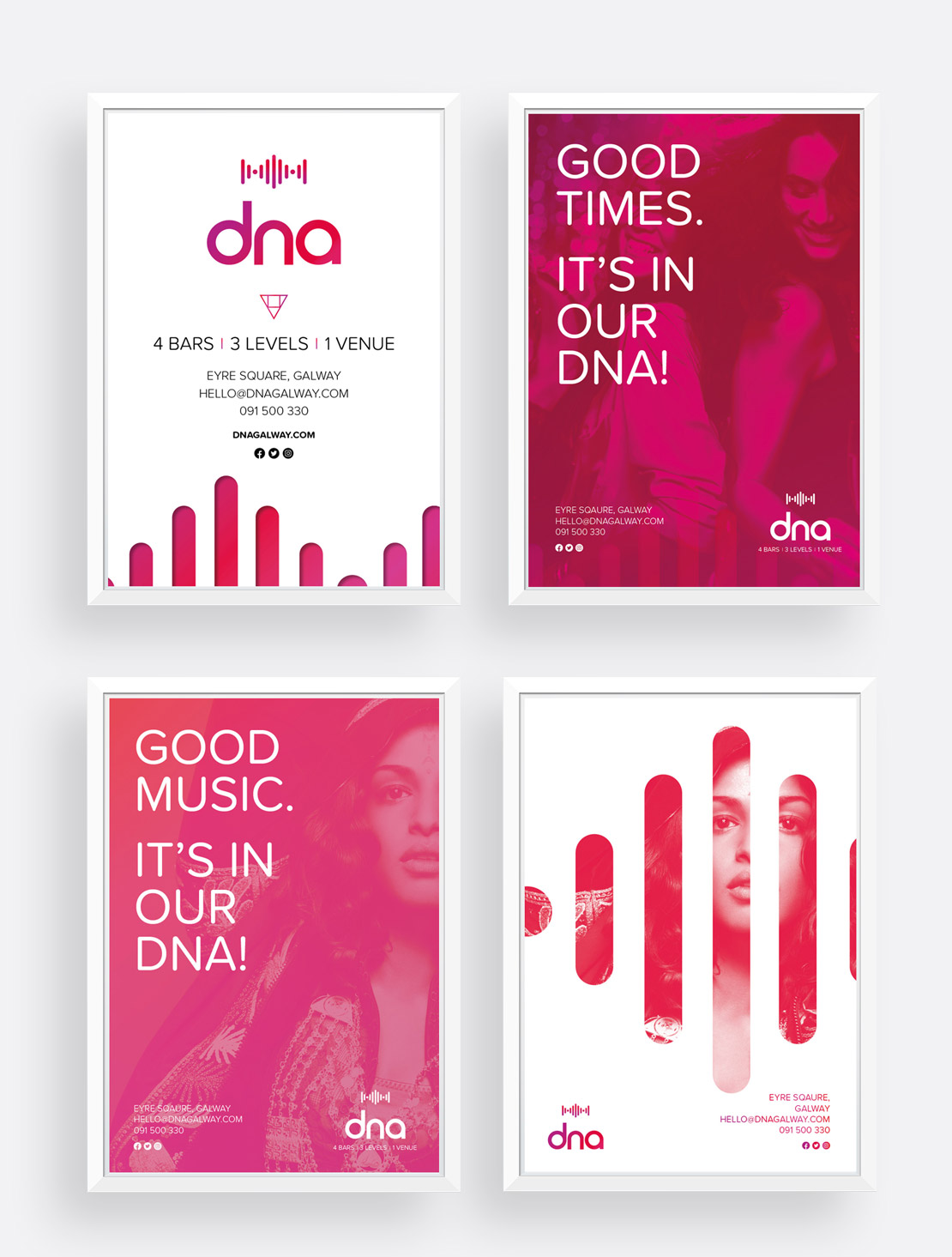 dna A2 promotional posters