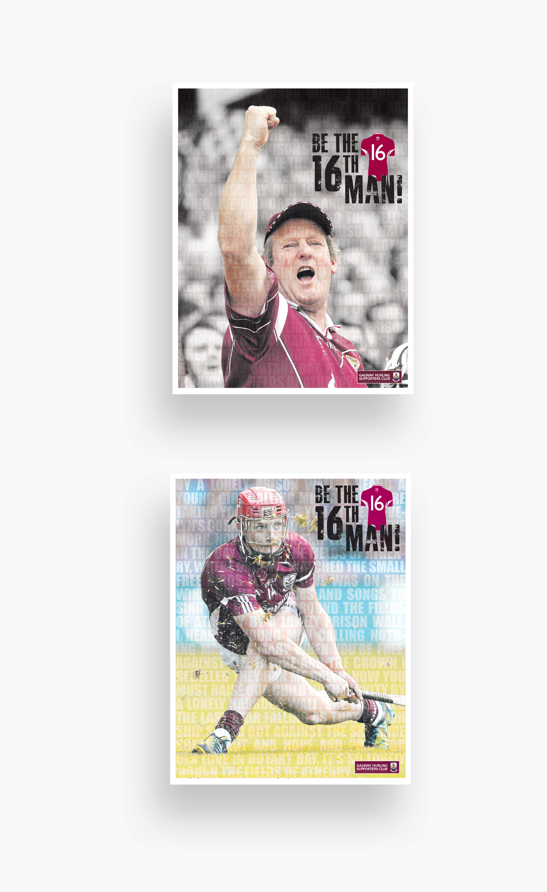 Galway Independent Galway Hurlers All-Ireland '16th Man' campaign advertisements