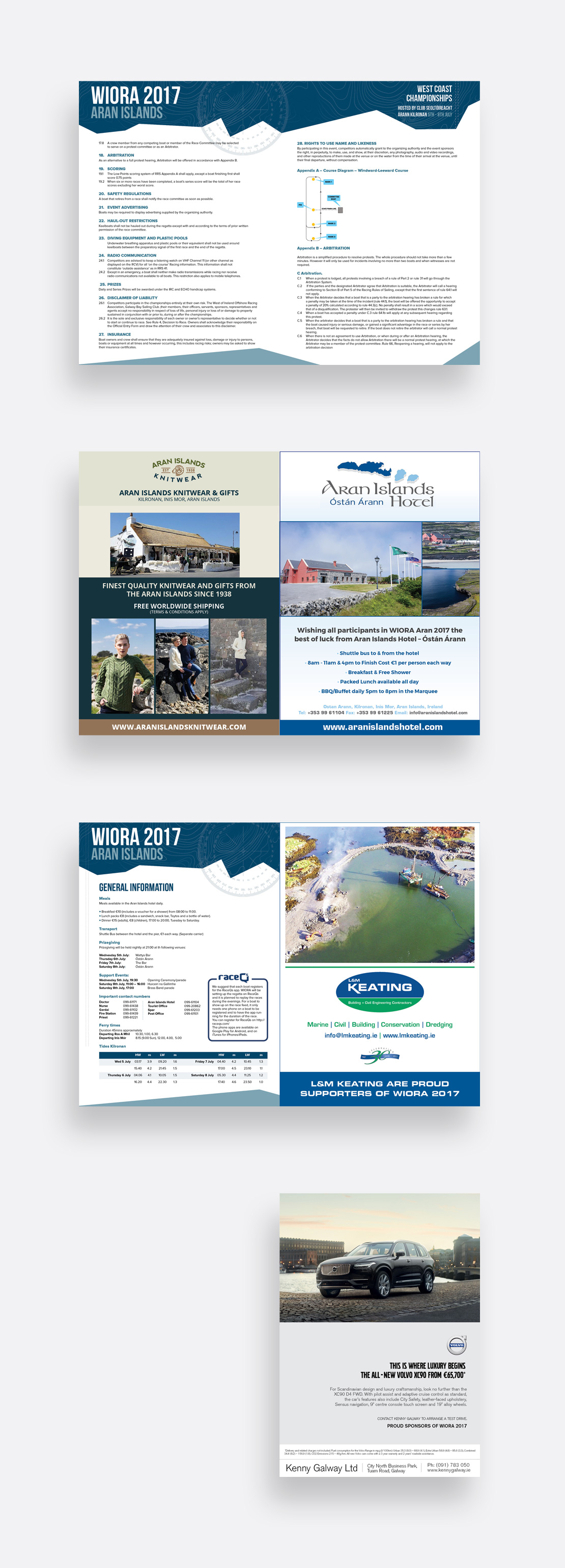 Waiora 2017 Aran Islands Yacht Race 28-page magazine