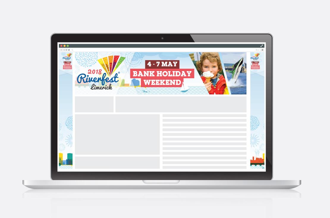 Limerick Riverfest 2018 social media graphics