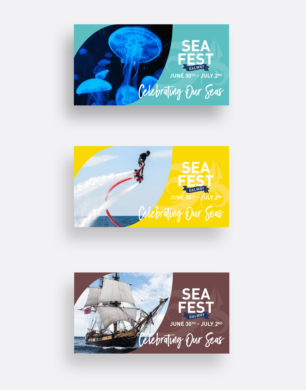 SeaFest 2017 social media graphics