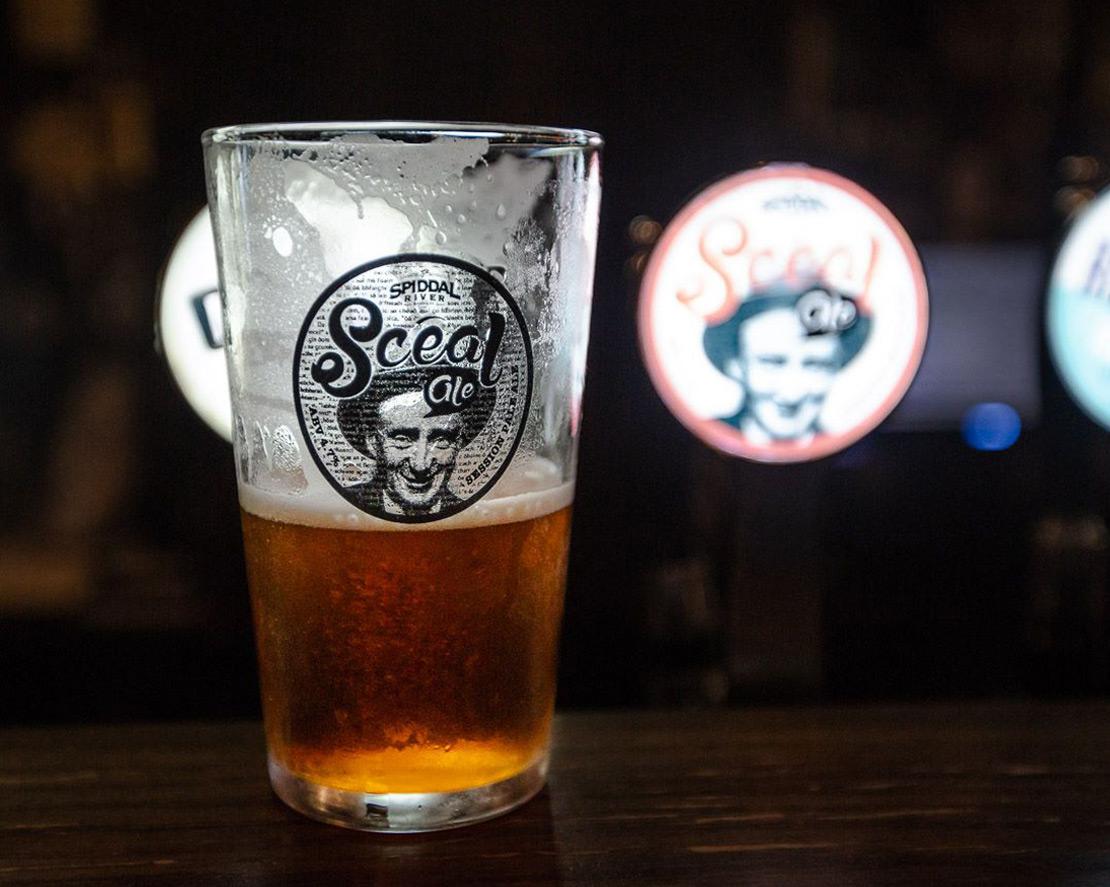Scéal Ale glass