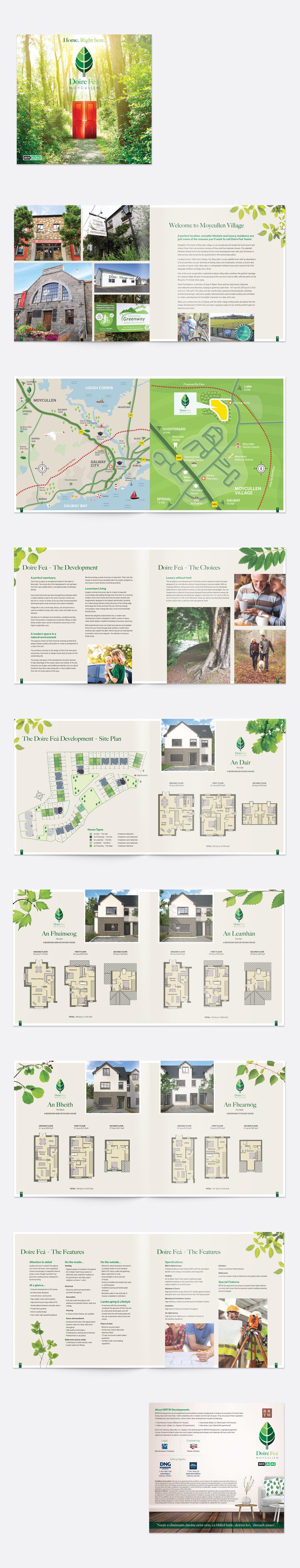 Doire Feá 16 page brochure