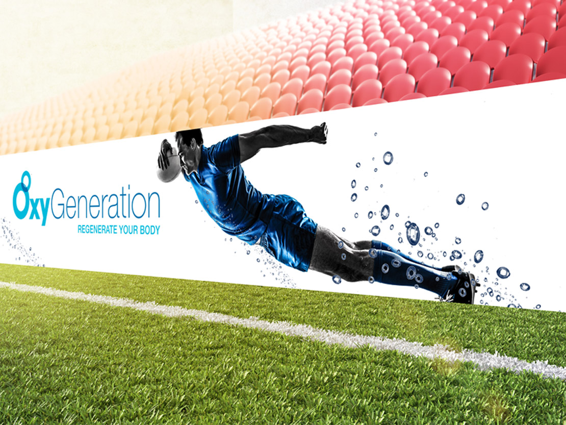 OxyGeneration Concept Sponsorship ad