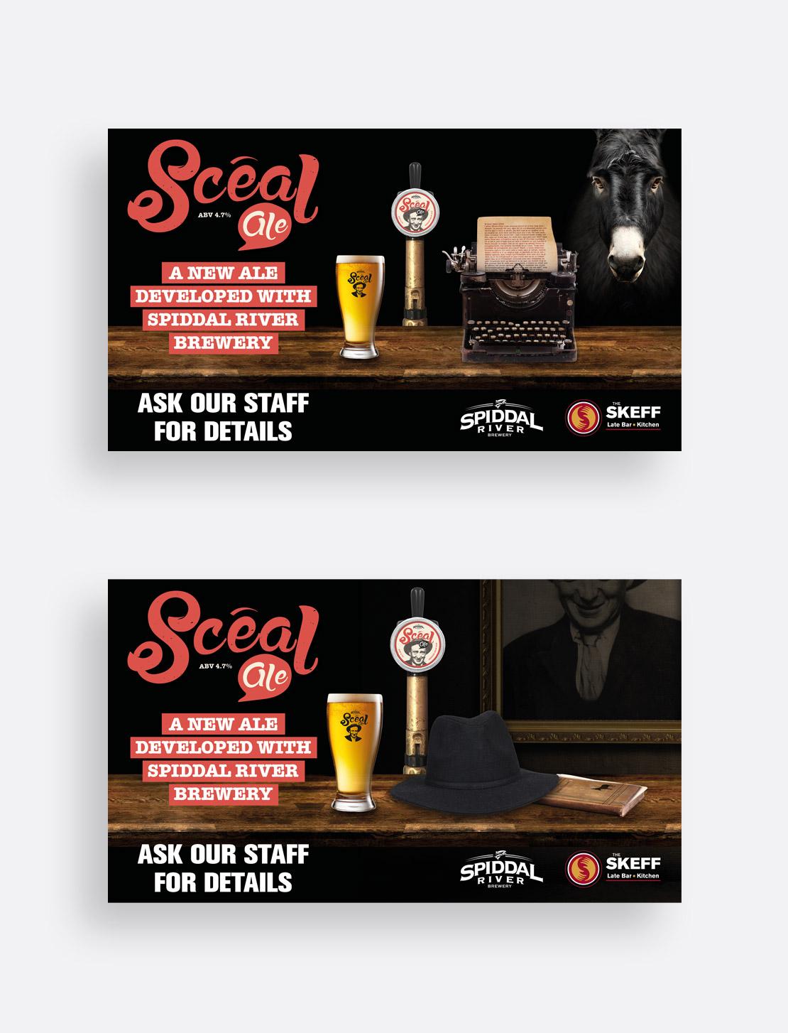 Scéal Ale social media promotions